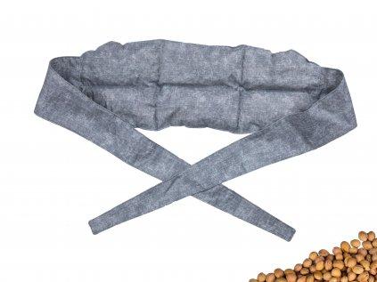 Nahřívací bederní pás Grey