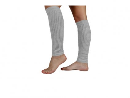 Návleky na nohy VFstyle 35 cm světle šedé