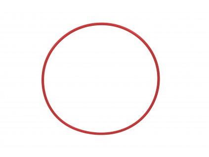 Gymnastická obruč červená