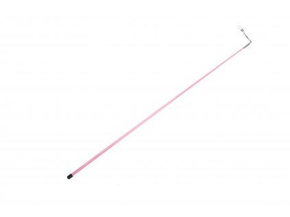 Tyčka ke stuze 56 cm růžová