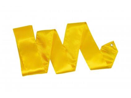 Gymnastická stuha žlutá