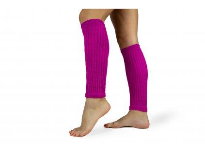 Návleky na nohy 35 cm fialové