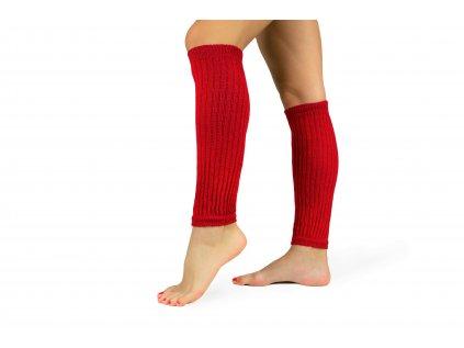 Návleky na nohy 35 cm červené