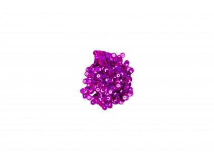 Flitry lomené s hologramem fialové