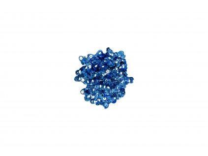Flitry lomené bez hologramu modré
