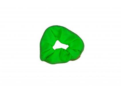 Gumička do vlasů VFstyle zelená
