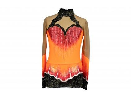 Gymnastický dres Gaja oranžový