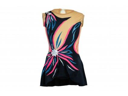 Gymnastický dres Flora růžový
