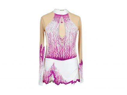 Gymnastický dres Adriana růžový