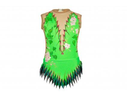 Gymnastický dres Sofia zelený