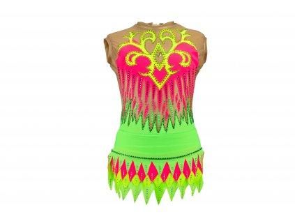 Gymnastický dres Billie zelený