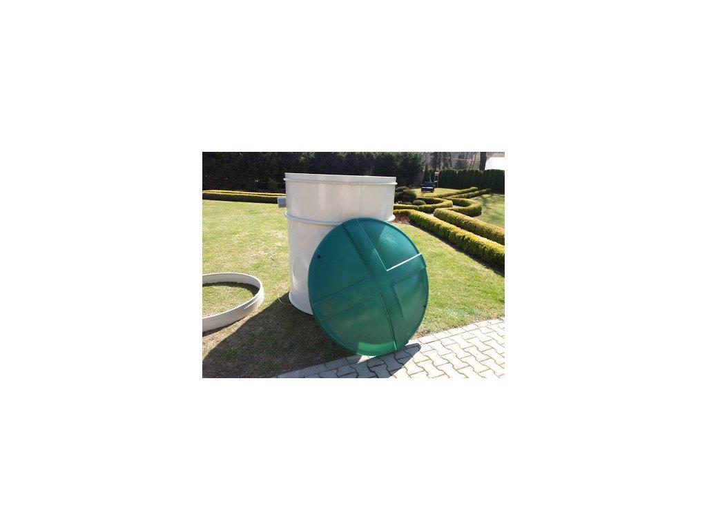 Čistička odpadních vod VHL6 COMPLET® /pro 2 až 6 osob