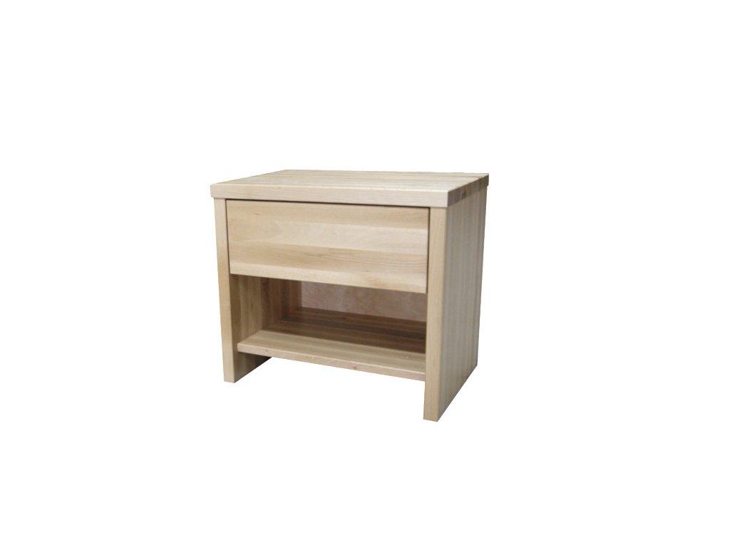 Noční stolek bukový 1S