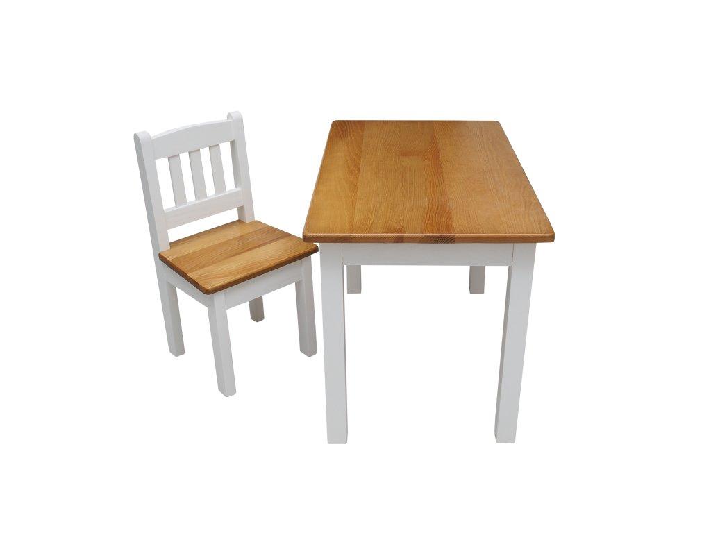 Dětský dřevěný stůl