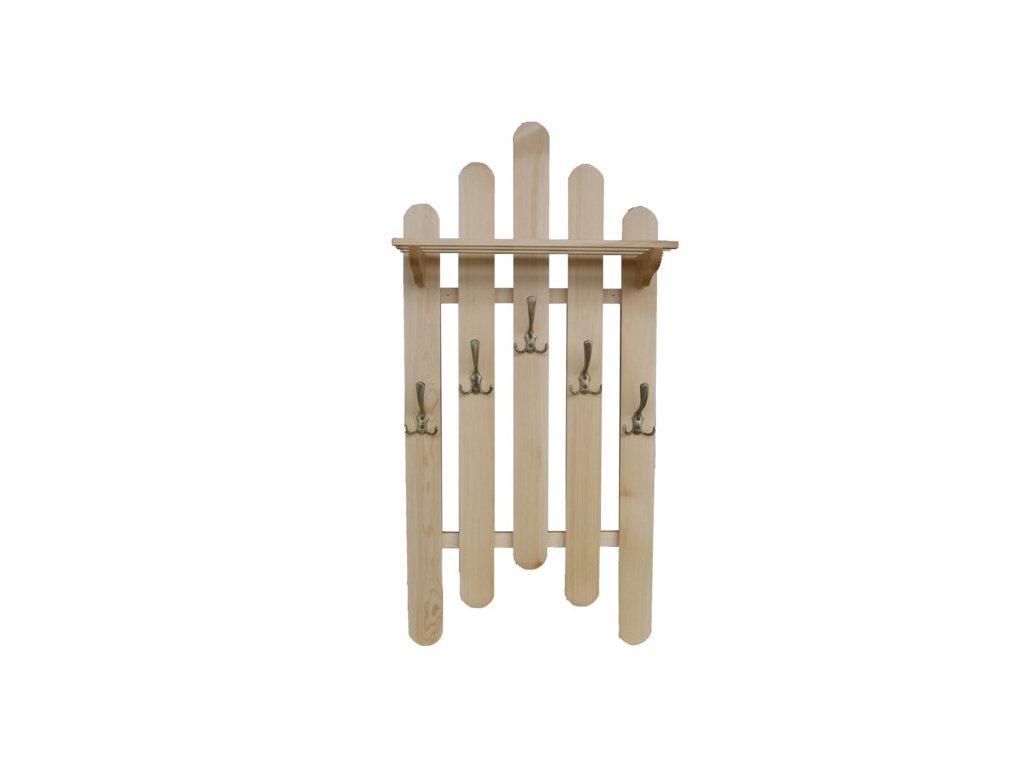 Dřevěný věšák W1