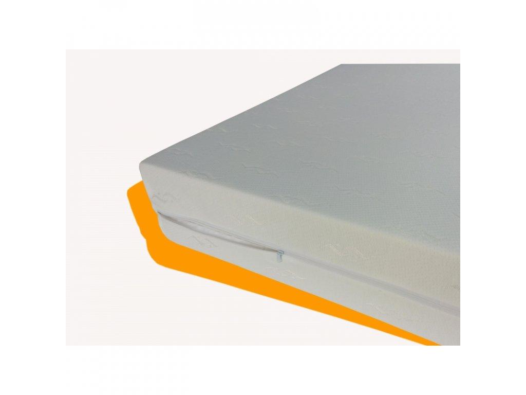 Potah na matraci hladký výška 15 cm