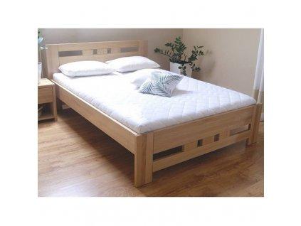 bukova postel bora 76 160x200 cm
