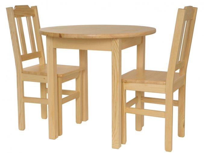 Jídelní stůl se židlemi Komplet III