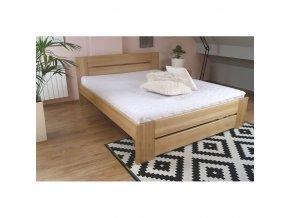 bukova postel bora 87 160x200 cm