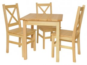 Jídelní stůl se židlemi Komplet IV