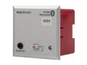 Bluetooth Audio přijímač do zdi - STŘÍBRNÝ