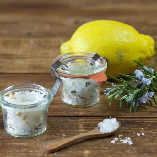 Rozmarýnová a olivová sůl