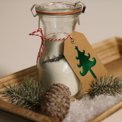 Vánoční vanilkový dárek