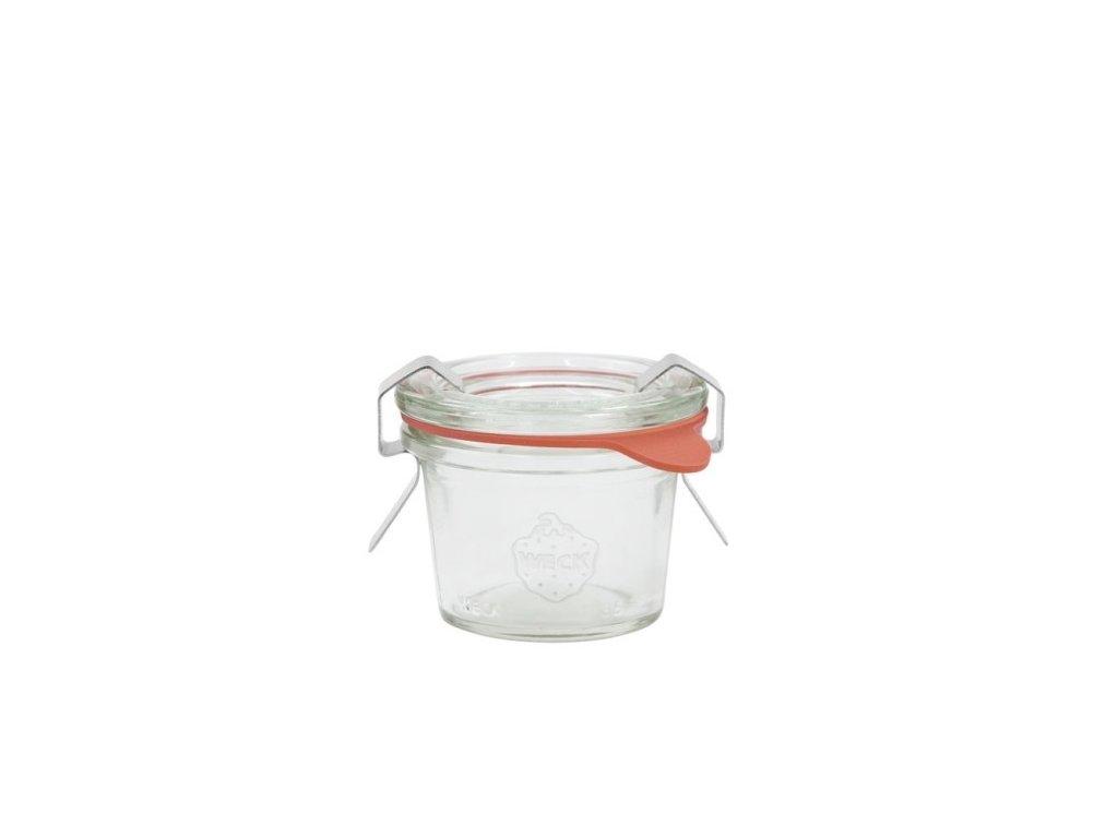 sklenice džemovka mini