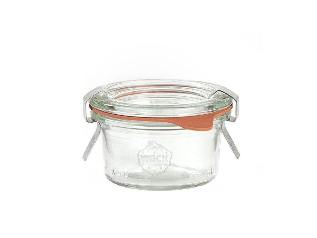 Sklenice džemovka mini, 50ml
