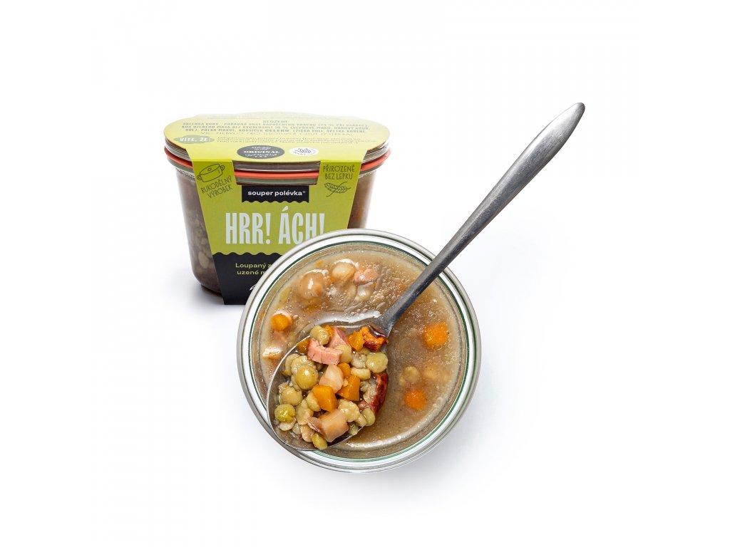 Hrachová polévka 5