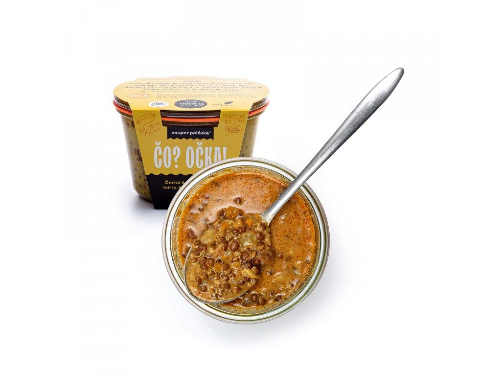 Čočková polévka s curry a kokosovým mlékem 5