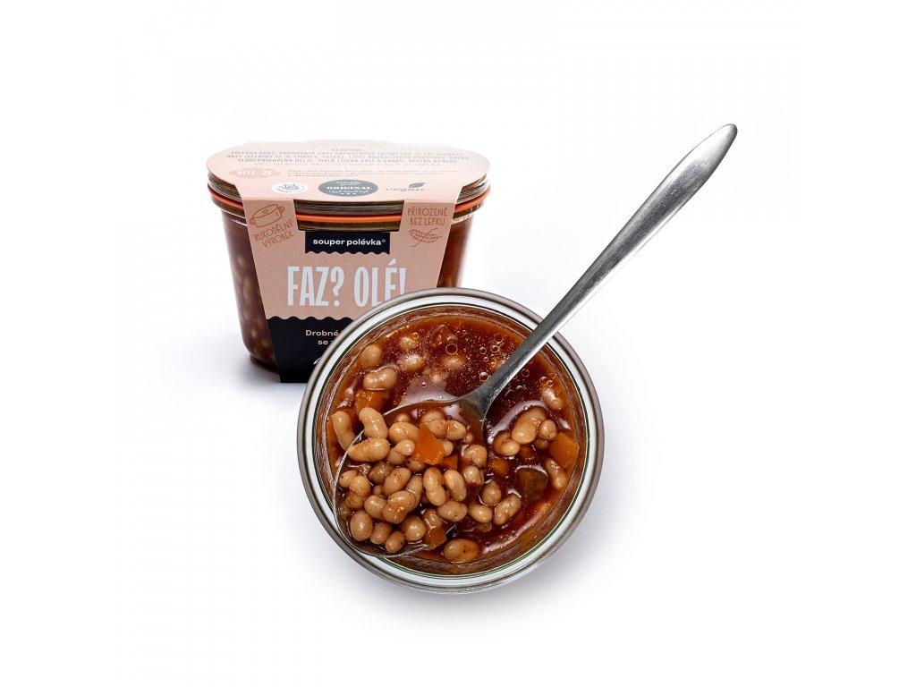 Fazolová polévka se zeleninou 5