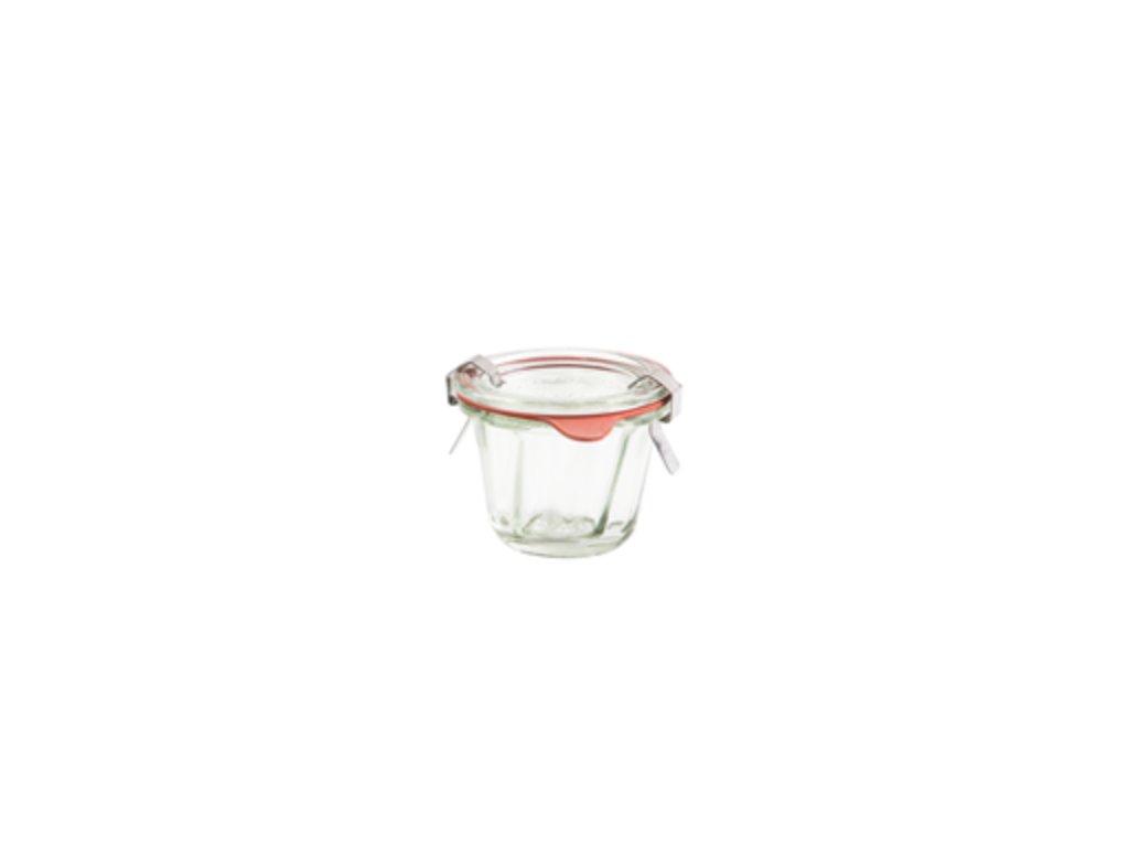 Zavařovací sklenice bábovka mini 80ml