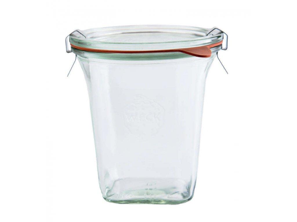 Zavařovací sklenice Quadro 545ml