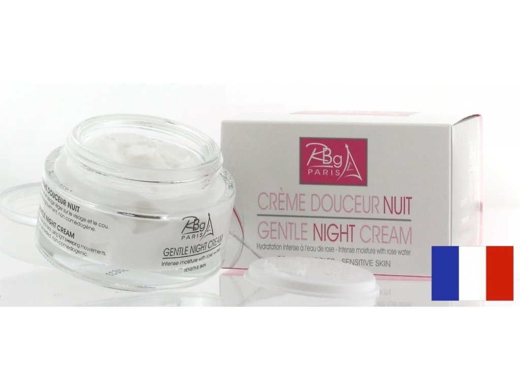 Rob012b Gentle night cream rbg paris 2