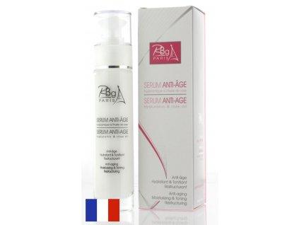 Rob005b Antiage roseoil hyaluronic serum rose of bulgaria rbg paris