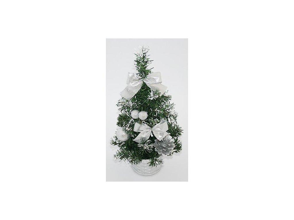 Stromcek MagicHome Xm5276, 30 cm, pine, silver