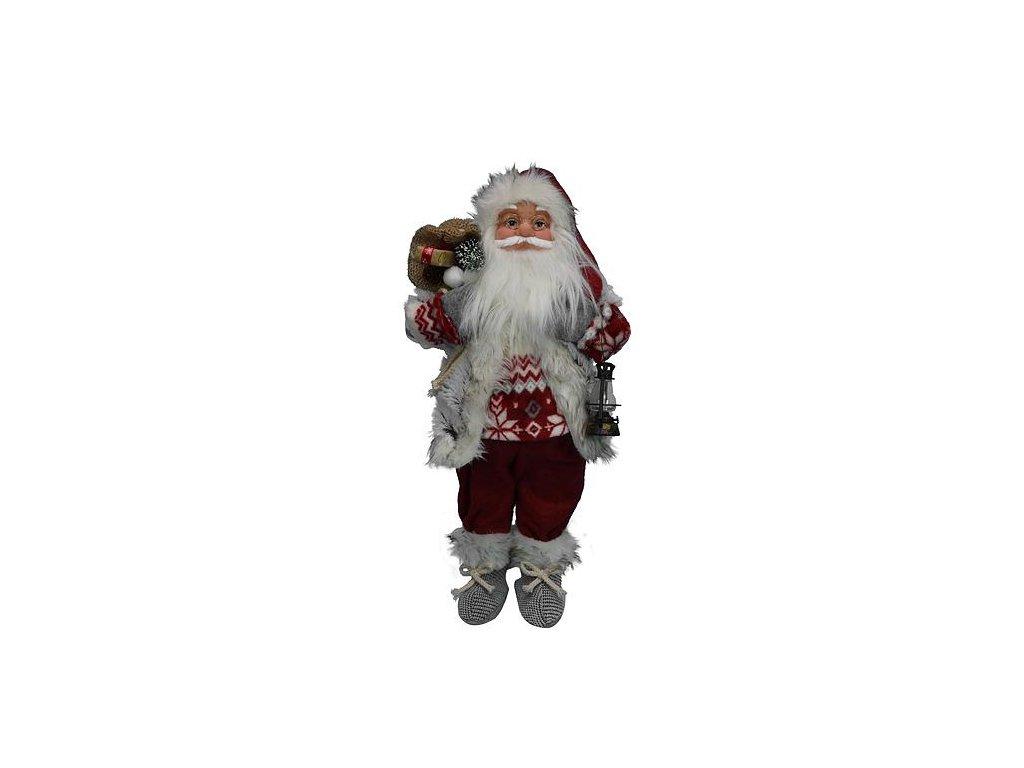 Dekoracia XmSA25, Santa, s vestou, 060 cm