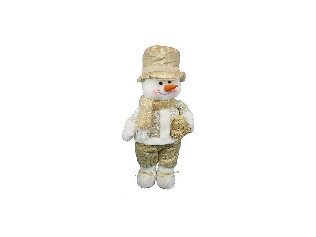 Postavicka MagicHome, Snehuliak, 55 cm, klobúk