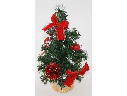 Stromcek MagicHome Xm5276, 30 cm, pine, red