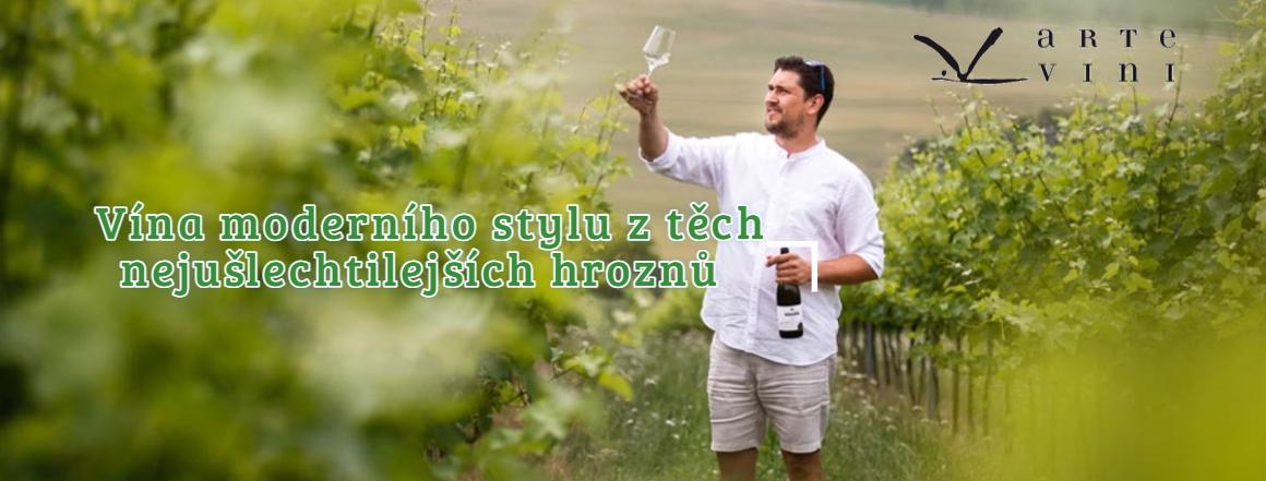 Ochutnejte vína v moderním stylu z vinařství Arte Vini