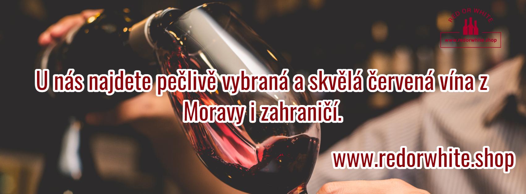 U nás najdete skvělá a pečlivě vybraná červená vína z Moravy i zahraničí.