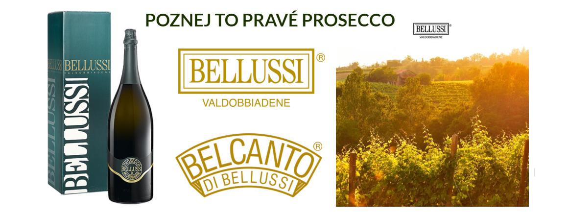 Prosecco a Spumante z Valdobbiadene - luxusní vína z vinařství Bellussi