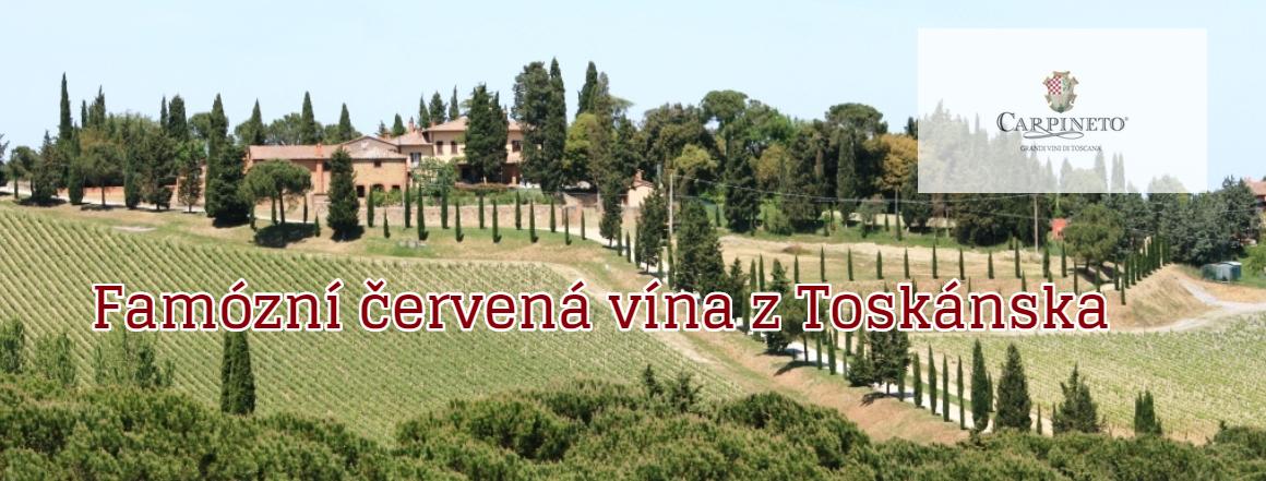Carpineto - famózní červená vína z Toskánska
