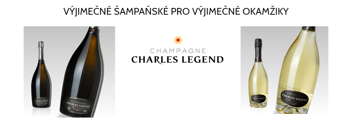 Výjimečné šampaňské pro výjimečné okamžiky - Champagne Charles Legend