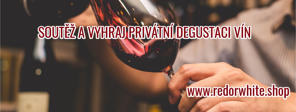 Soutěžte s naším e-shopem a vyhrajte privátní degustace vín