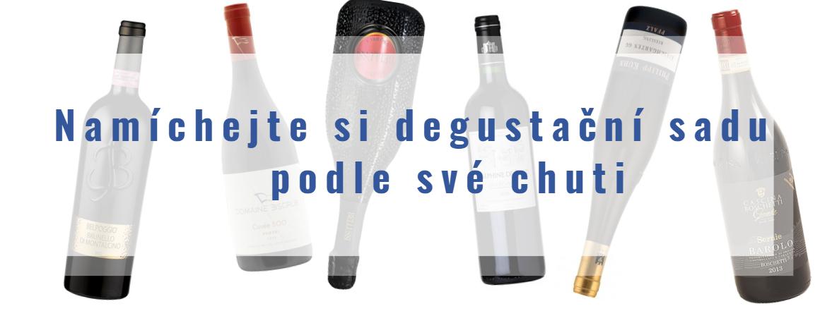 Vyberte si degustační sadu vín podle své chuti