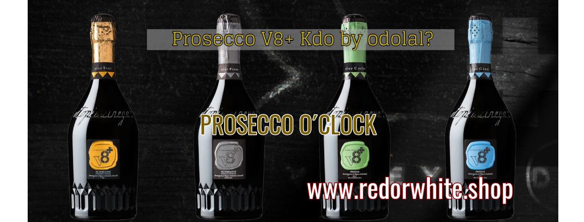 Lahodná a oceňovaná Prosecca z vinařství V8+