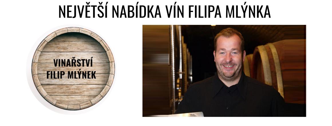 Největší nabídka vín Filipa Mlýnka pouze v našem eshopu!
