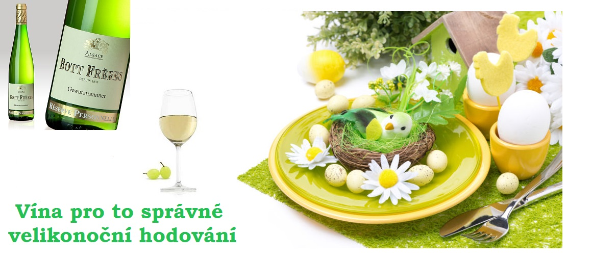 Vyberte si vína na Váš velikonoční stůl